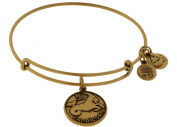 Alex and Ani Capricorn Charm Bangle Bracelet - A13EB01CARG