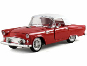 1955 Ford Thunderbird Hard Top, Red - Arko 05511 - 1/32 Scale Diecast Model Toy Car