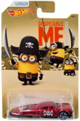 Hot Wheels Despicable Me Minion Made Slikt Back Diecast Vehicle