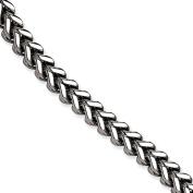 Stainless Steel Franco Link 23cm Bracelet