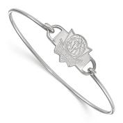LogoArt NBA Dallas Mavericks Sterling Silver Bangle Bracelet