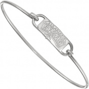 NBA San Antonio Spurs Bangle Bracelet in Sterling Silver - 18cm