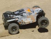 ECX 03041 1/10 Circuit 4wd Stadium Truck Brushed Ready-to-Run