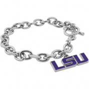 NCAA Louisiana State University (LSU) Tigers Pendant Bracelet, 20cm