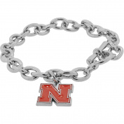 NCAA University of Nebraska Huskers Pendant Bracelet, 20cm
