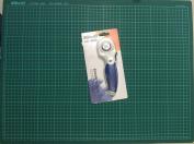 Kw-triO Cutting mat A2 self healing grid cutting mat non slip knife board + Kw-triO 45mm rotary cutter