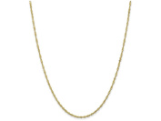 8 Inch 10k 1.70mm Singapore Chain Bracelet in 10 kt Yellow Gold
