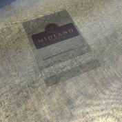 Black 100% Cotton Organdie stiff sheer lightweight fabric for curtain & Lining 44 M689