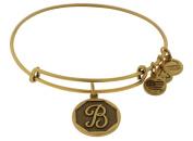 Alex and Ani Initial B Charm Bangle Bracelet - A13EB14BG