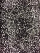 Jane Makower Cotton Dress Fabrics Delicate Lace Black