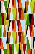 Jane Makower Cotton Dress Fabrics – Geometrics & Lace Stories Triangles R68