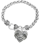 """The Perfect Gift """"Granny"""" Hypoallergenic Bracelet, Safe-Nickel Free"""