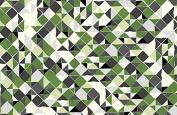 Jane Makower Cotton Dress Fabrics – Geometrics & Lace Stories Mosaic S65