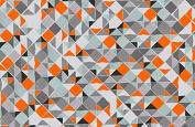Jane Makower Cotton Dress Fabrics – Geometrics & Lace Stories Mosaic N45