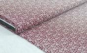 """'Floral 1 métre """"Milo Red 100 x 150 cm 100% Cotton"""