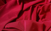 Poly Lycra Jersey Stretch Fabric - Deep Red - 150cm Wide - New by Dcf