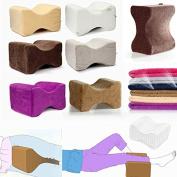 Bazaar 26X20X15cm Cool Gel Memory Foam Knee Leg Pillow Back Hip Pain Relief Therapy