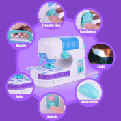 Hunpta Electric Sewing Studio Machine Sew Intelligence Activities Toy For Girls Kids