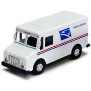 PULL BACK USPS Mail Delivery Truck Diecast Toy Model 11cm