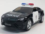 13cm Kinsmart Lamborghini Urus Police SUV Diecast Model Toy Cop 1:38
