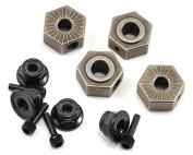 Vaterra 232077 Wheel Hex Pins & Serrated Lock Nut