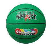 School Smart 70cm Gradeball Rubber Junior Basketball, Green