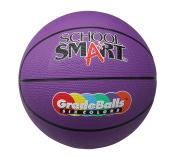 School Smart 70cm Gradeball Rubber Junior Basketball, Violet