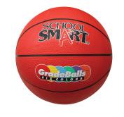 School Smart 70cm - 1.3cm Gradeball Rubber Women's Basketball, Red