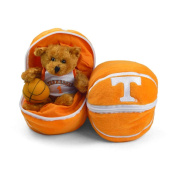 Tennessee Volunteers Stuffed Bear in a Ball - Basketball