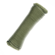 ASR Outdoor Survival Multi-Purpose Paracord Rope OD Green- 30m
