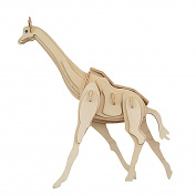 DUY Wooden Giraffe Design Building Block Puzzle Toy