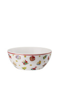 Hutschenreuther Christmas Memories 40 Years with Ole Winther/Porcelain Cereal Bowl, Multi Coloured, 15 x 15 x 8 cm