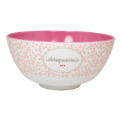 """'Melamine Cereal Bowl 500ml Favourite People """""""