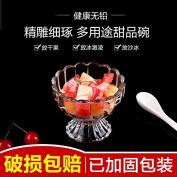 CWAIXX #Lead-free transparent salad dessert fruit juice milk tea milk shake drink glass ice cream bowls of ice cream Cup cups