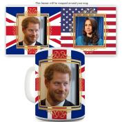Twisted Envy Prince Harry And Meghan Markle Ceramic Tea Mug