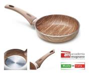 Accademia MUGNANO Frying Pan Non-Stick 30 cm Wooden Effect Arborea
