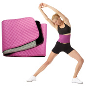 Womens BodyFit Quilted Slimmer Exercise Belt By Sports Authority Waist Trimmer Weight Loss