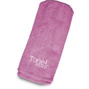 Tone Fitness Terry Cloth Yoga Mat, Machine Washable