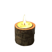 Rustic Wooden Candle Holder Tea Light Holder SOMESUN Home Party Bar Stable Decoration