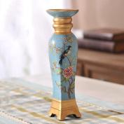 XQ European Retro Ceramics Candle Holders