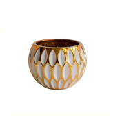XQ Candlestick Gold Line Candle Holder Decorations