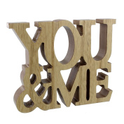 'Lasting Memories' MDF Standing Plaque 'You & Me'