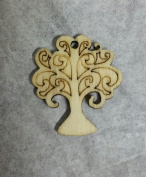 Wooden Tree of Life Pendant PZ. 12