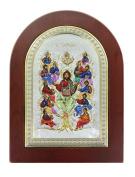 Serigraph Icon Tree of Life Mis. 15 x 21 cm.
