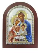 Serigraph Icon Holy Family Mis. 15 x 21 cm.