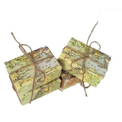 Kraft Paper World Map Drawer Type Wedding Favour Candy Gifts Boxes