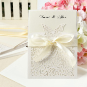 10 Day Time /Evening Wedding Invitations Sheets with Envelopes