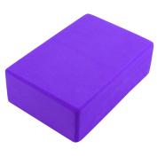 Gym Athletic Training EVA Foam Pilates Yoga Block Brick Violet
