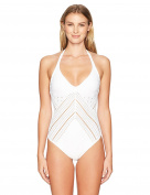Robin Piccone Women's Clarissa Plunge One Piece Swimsuit