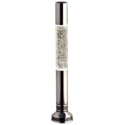 Flat Top Home Glitter Lava Lamp - Silver
